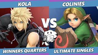 GOML 2020 SSBU - Kola (Roy) Vs. Colinies (Young Link) Ultimate Winners Quarters
