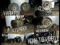 Minarelli 50cc 2 Stroke: Removing Cylinder | Variator | Clutch | Starter Mechanism | Intake System