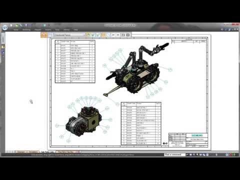 Những cải thiện trong tính năng vẽ Drafting của Solid Edge ST8
