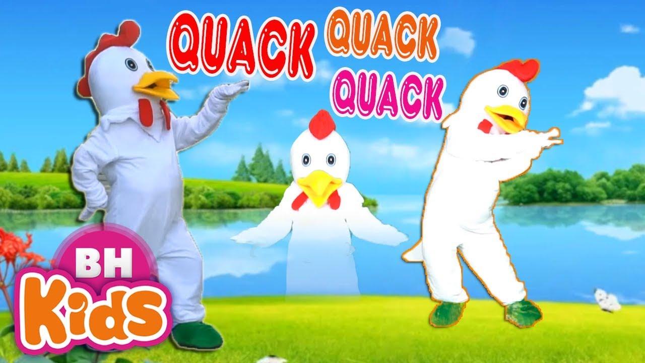 Một Con Vịt Xòe Ra Hai Cái Cánh ♫ Nhạc Thiếu Nhi Con Vịt ❤ Quack Quack Duck