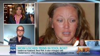 Mom Locked Teens In Tool Box?