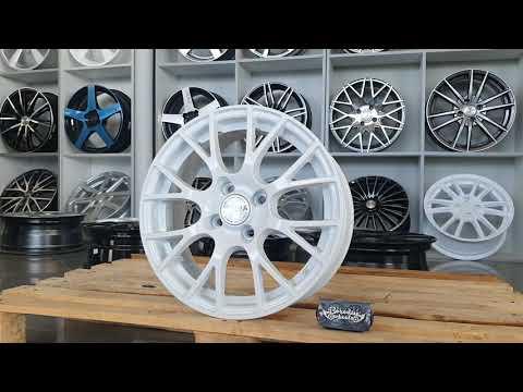 Классные диски Прома GT R15 4x98 Белые