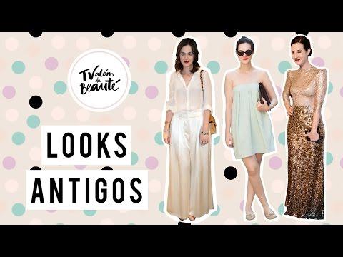 Analisando looks antigos (tag) - TV Além da Beauté   Vic Ceridono