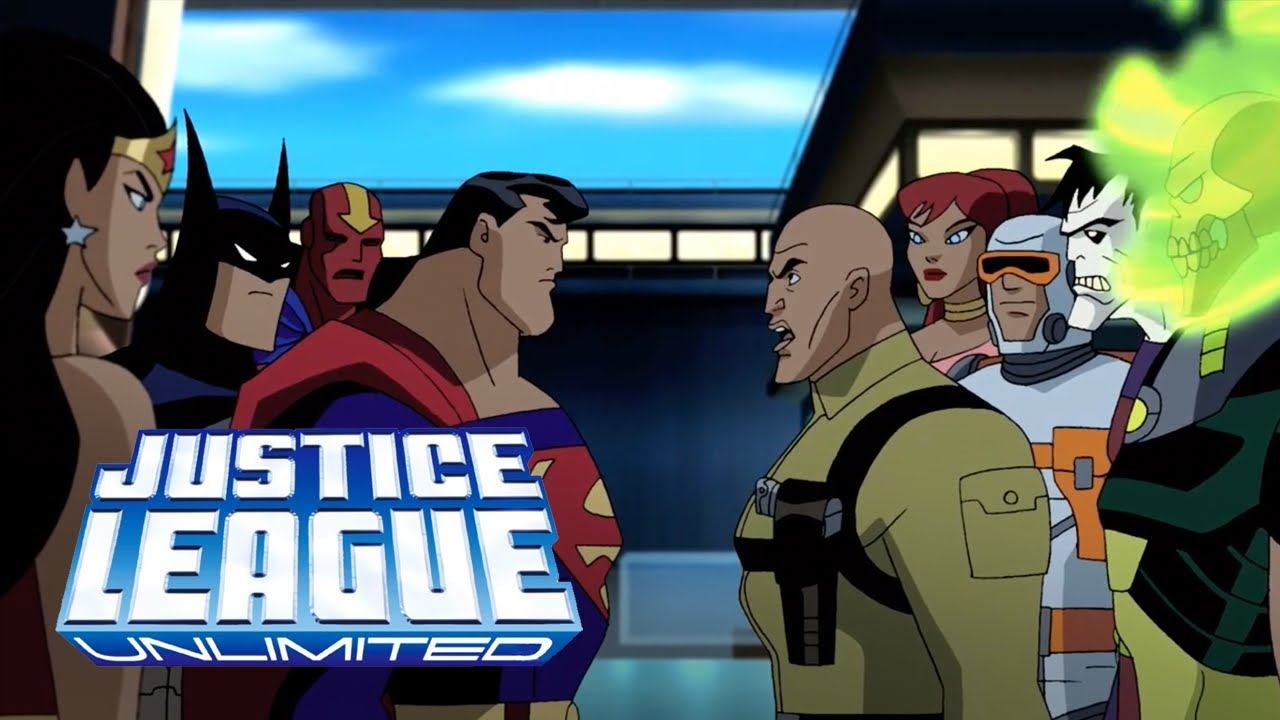 Download The Justice League and The Legion of Doom join forces against Darkseid | Justice League Unlimited