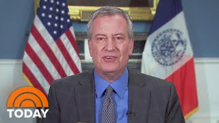 Mayor Bill de Blasio: Worst Coronavirus Weeks in NYC Could Last Into May | TODAY