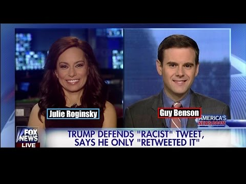 "Trump Defends ""Racist"" Tweet says he only ""Retweeted It"" - Guy Benson"