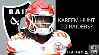 Sign Kareem Hunt And Jadeveon Clowney, Trade Derek Carr | Oakland Raiders Rumors From Raider Nation