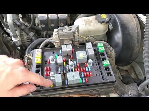 Fuse Box Location And Diagrams Chevrolet Trailblazer 2002 2009 Youtube