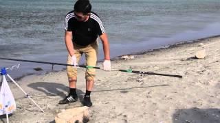 Ловля кефали на Каспий(Казахи рыбачат)