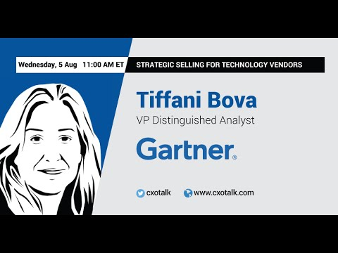 #125: Strategic Selling for Technology Vendors, with Tiffani