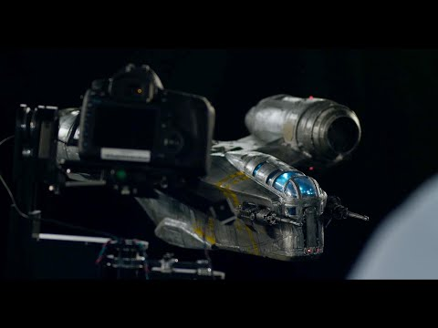 How ILM Made The Mandalorian's Razor Crest Motion-Controlled Miniature!