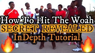 How to Hit Tнe Woah! BEST DANCE TUTORIAL / Woah Tutorial