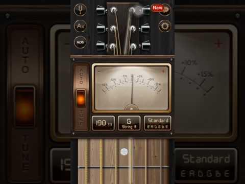 Aplikasi Guitar Tuner Cara Stem Stel Gitar Youtube