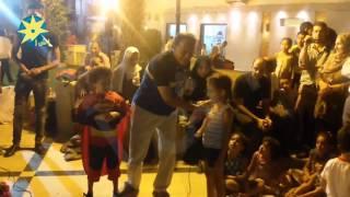 بالفيديو النادى الأهلى يحتفل بمواليد شهر سبتمبر بمسابقات فكاهية للأطفال- أ ش أ