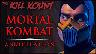 Mortal Kombat: Annihilation (1997) KILL KOUNT