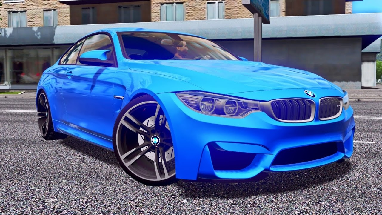 city car driving 1.5.4 bmw m4 f82 - g27 hd [1080p][60fps] - youtube