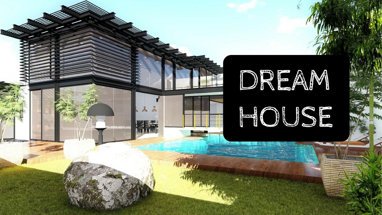 Dream house design idea 3d rendering youtube for Dream house plans 3d
