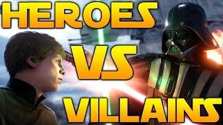 Star Wars Battlefront - Heroes VS Villains