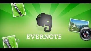 видео Знакомство с программой Evernote для Android