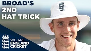 Stuart Broad Takes 2nd Hat Trick Without Realising! | England v Sri Lanka 2014 - Highlights