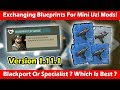 Exchanging Blueprints For Mini Uzi Mods (1.11.1)! Last Day On Earth Survival