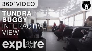 Inside The Tundra Buggy - 360 Degree Video