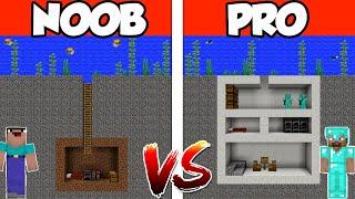 NOOB vs PRO: SECRET UNDERWATER HOUSE in Minecraft PE | MCPE Journalist