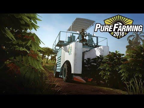 PURE FARMING 2018 PRE ALPHA GIAPPONE E COLOMBIA - CILIEGIE E CAFFÈ - GAMEPLAY ITA