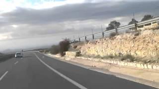 Dojazd z Gandii na lotnisko Alicante