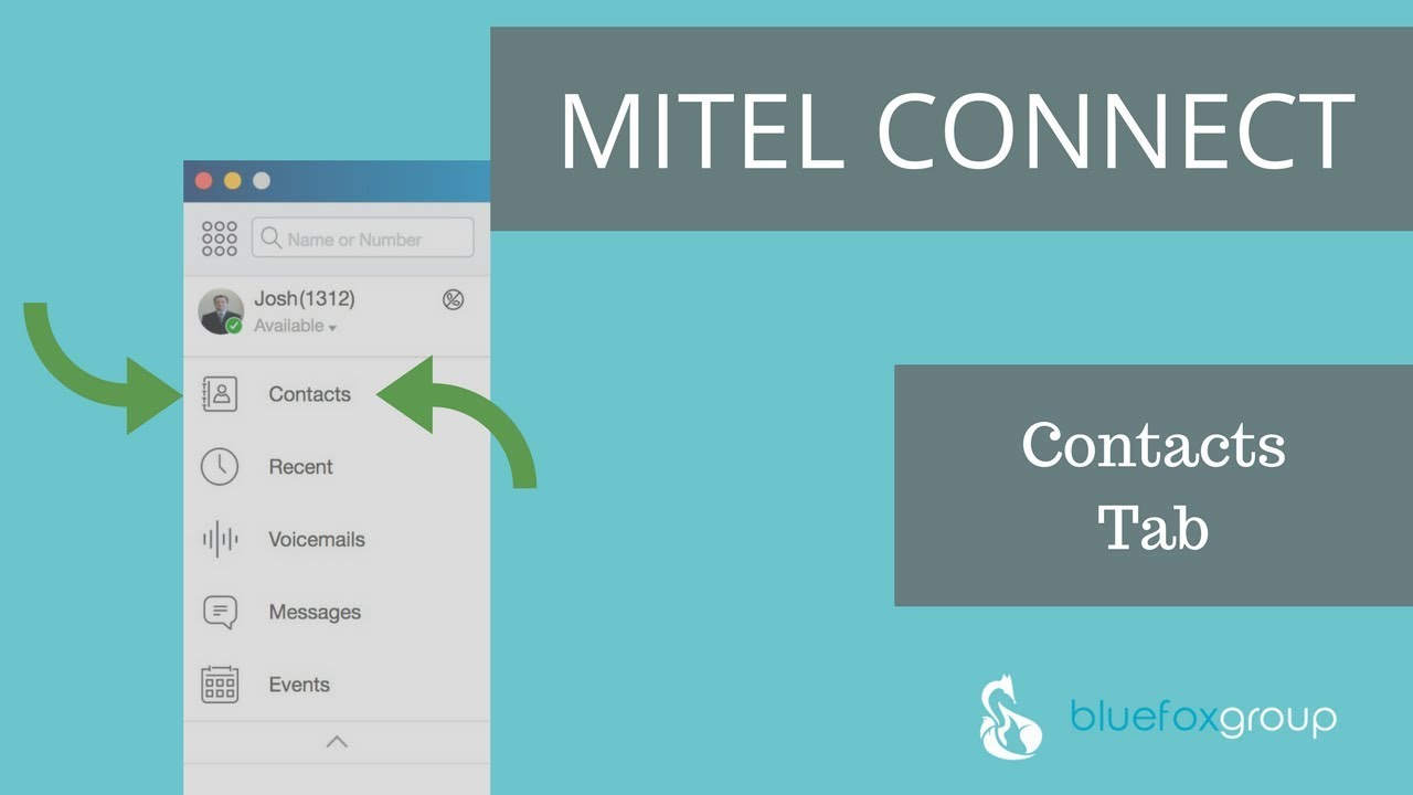 How to use the ShoreTel Mitel Connect Client Contacts Tab