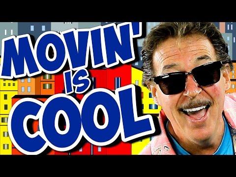 Movin' Is Cool   Fun Movement Song for Kids   Brain Breaks   Jack Hartmann
