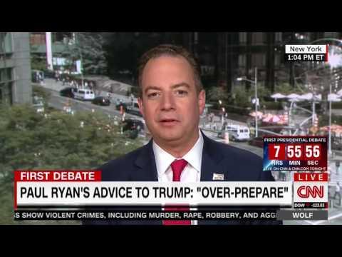 RNC Chairman Reince Priebus On CNN's 'Wolf'