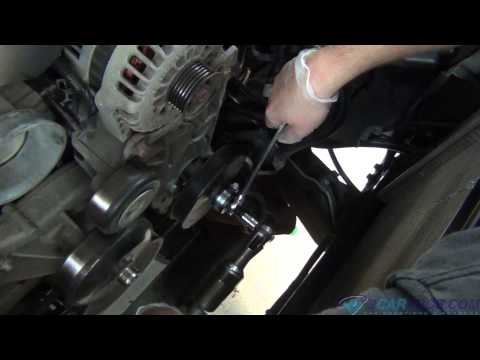 POWER STEERING PUMP PULLEY REMOVAL