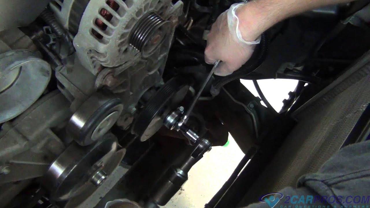 medium resolution of power steering pump pulley removal