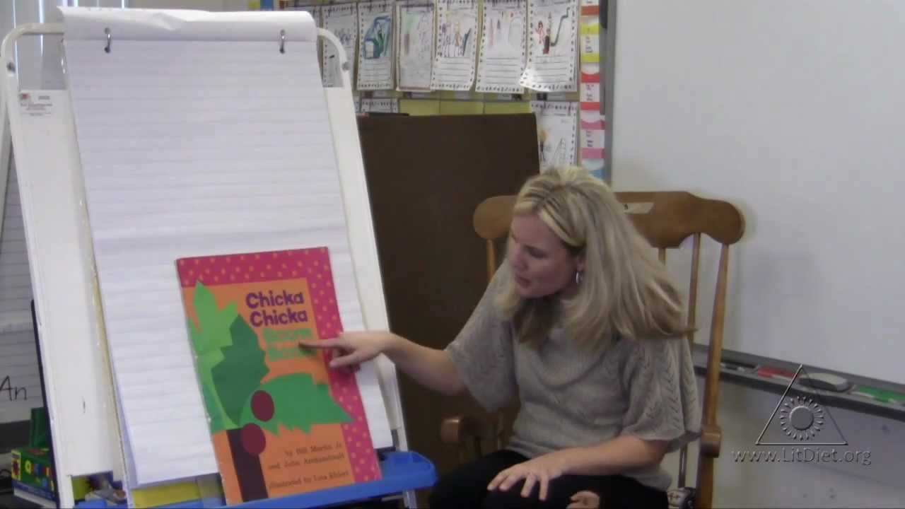 Chicka, Chicka, Boom, Boom: Shared Reading in Kindergarten - YouTube