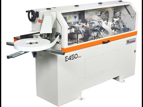 New Casadei E450PM Compact Premilling Edgebander | Scott+Sargeant Woodworking Machinery UK