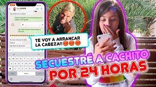 BROMA TELEFÓNICA! PERDÍ A SU MASCOTA CACHITO!! 🐶 OSO ENLOQUECE 😱😭 | Leyla Star 💫