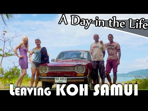 LEAVING KOH SAMUI ISLAND – LIVING IN THAILAND DAILY VLOG (ADITL EP190)