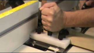Mlcs Woodworking #8871 Stacked Rail And Stile Router Bit Demo