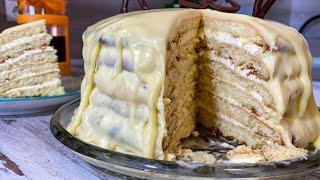 получите потрясающий вкус за пол часа! НЕЖНЫЙ Торт