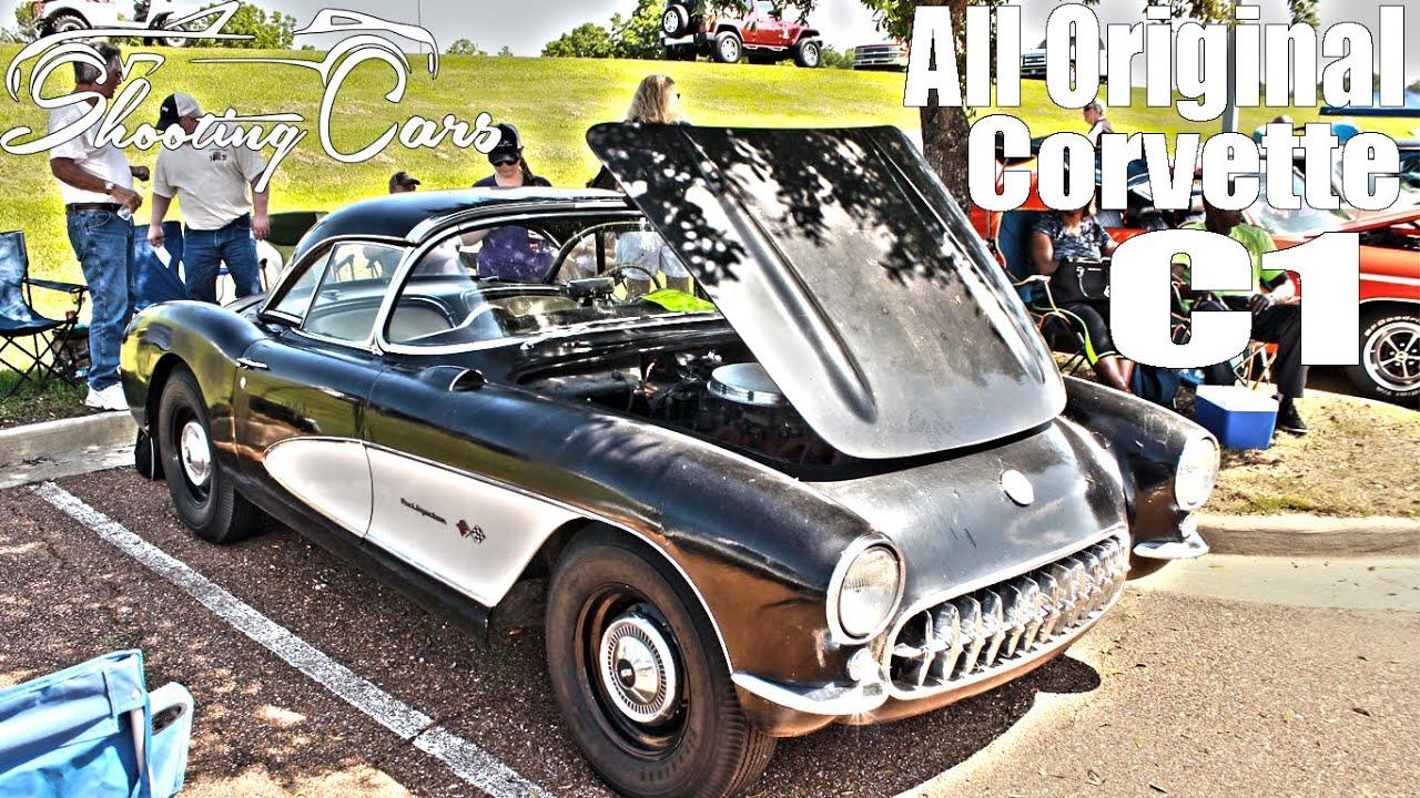 Corvette C1 All Original Barn Find First Gen Vette