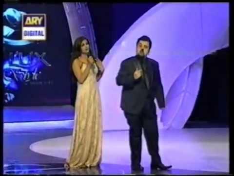 Saba Qamar & Ahmed Ali Butt at 11th Lux Style Awards 2012