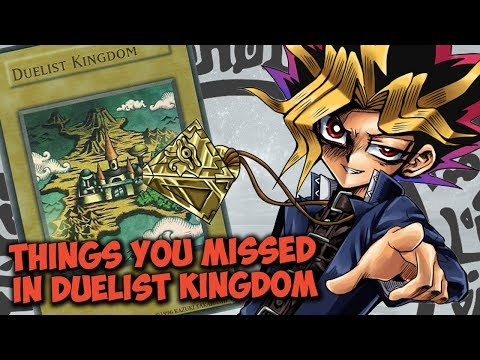 Things You Missed In YU-GI-OH! Duelist Kingdom Arc