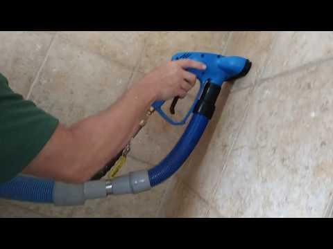 Cleaning tile floors for house flipper - Customer left great review