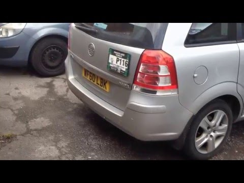 Vauxhall Zafira DPF Diesel Particulate Filter forced  regeneration using snapon verdict