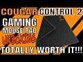 COUGAR CONTROL 2 GAMING MOUSE PAD UNBOXING (MEDIUM SIZE)