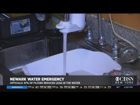 Newark Water Emergency: Officials Say 97% Of Filters Tested Reduced Lead In Water
