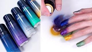 Trying Spray Paint Nail Polish lol - Edward Avila