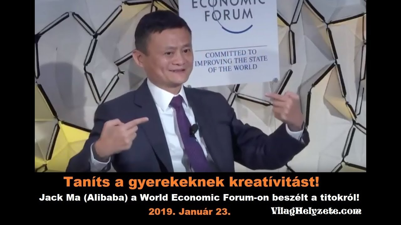Tanits A Gyerekeknek Kreativitast Jack Ma Alibaba A World