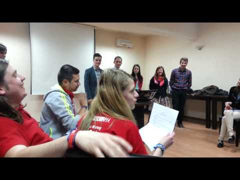 AIESEC Tg-Mures EB 2014-2015 Takeover [Part1]